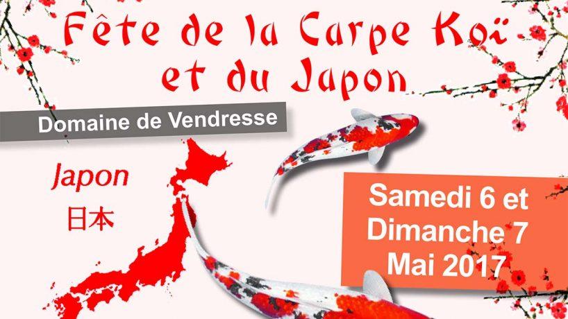 Fête de la Carpe Koï et du Japon : samedi 6 et dimanche 7 mai 2017
